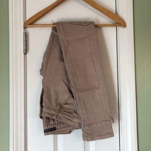 Joes Jeans Natural Khaki Cargo Skinny Pants